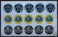 Lotus stickers decals elise exige caterham esprit elite
