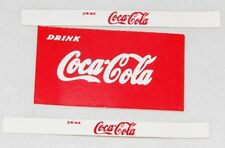 "#72 Dinky Stickers for #402 Bedford TK Lorry ""COCA COLA"""