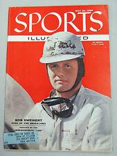 SPORTS ILLUSTRATED 1956 MAY 28 BOB SWEICKERT INDIANAPOLIS 500 KING of BRICKYARD