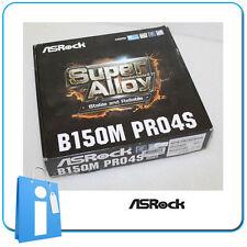 Placa base mATX B150 ASRock B150M PRO4S Socket 1151 con Accesorios