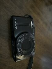 Nikon COOLPIX S9600 16.0MP Digital Camera-Black, excellent condition, L/N