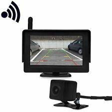 Senza Fili Radio Telecamera Posteriore con Schermo Pdc Sensori per Molti Veicoli
