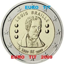 2 €    BELGIQUE   COMMEMORATIVE    2009    1  x  PIECE          disponible