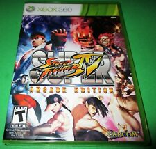 Super Street Fighter IV - Arcade Edition Microsoft Xbox 360 *Sealed! *Free Ship!