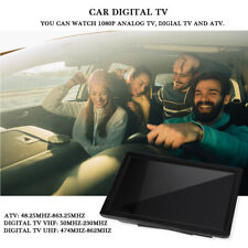 """Portable 14"""" TFT ATV / UHF / VHF Auto Digital TV Fernsehen Analog AC100-220V ✿"""