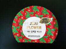 DEARPACKER Jeju Camellia Flower Korean Facial Mask Pack Elasticity Nourishing