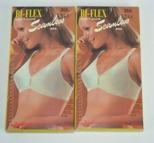 Vtg 1970's Lot of 2 Biflex Won't Show Seamless Bras in Original Boxes 36A