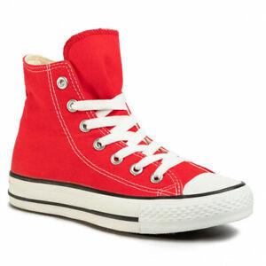Scarpe da ginnastica rosse Converse Chuck Taylor All Star per ...