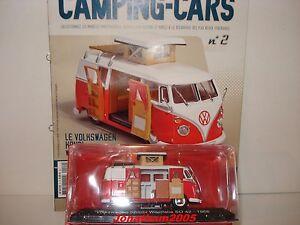PASSION CAMPING CARS - VOLKSWAGEN KOMBI WESTFALIA SO 42 - ALLEMAGNE 1966 au 1/43