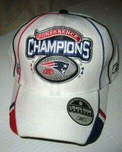 NFL Patriots 2004 Conference Champions Super Bowl Reebok Hat (NEW)