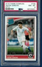 2018 Panini Donruss Optic Jadon Sancho #189 Rookie PSA 8 QTY AVAILABLE