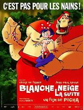 Affiche 120x160cm BLANCHE-NEIGE, LA SUITE (2007) Picha - Film d'animation