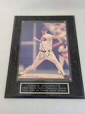 Greg Maddux Signed Autograph 1952 Framed Picture