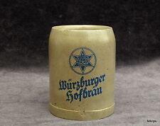 alte Bierkrug Krug Würzburger Hofbräu  0,3  Liter