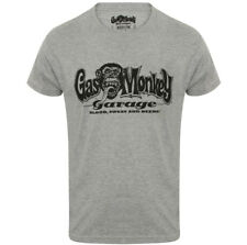 UFFICIALE GAS MONKEY GARAGE Essentials Uomo GMG MANI T-Shirt