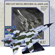 Panavia Tornado GRMk1 RAF Diecast Airplane w/Stand Model Power Postage Stamp NEW