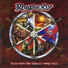 RHAPSODY Tales From The Emerald Sword Saga JAPAN MINI LP SHM CD