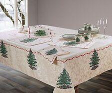 Spode Christmas Tree Fabric Tablecloth 60x144