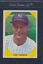 1960 Fleer Baseball Greats #028 Lou Gehrig EX/MT *40
