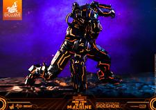 New Sealed Hot Toys MMS553D35 Iron Man 2 War Machine Neon Tech Orange Diecast