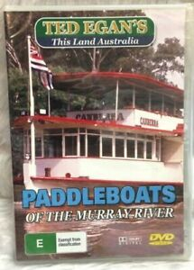 Ted Egan's This Land Australia Paddleboats of The Murray River Region ALL