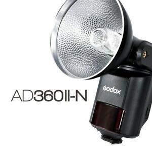 Godox AD360II-N (AD360II/N) TTL Flash 2.4G Wireless X System For Nikon Cameras