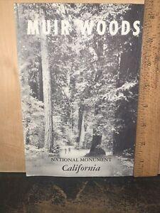 1961 Muir Woods National Monument Brochure