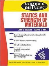 Schaum's Outline of Statics and Strength of Materials (Schaum's) by Jackson, Jo