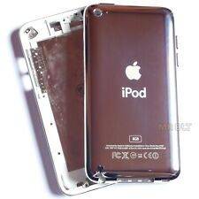 White iPod Touch 4 8GB Back Cover 4th Generation Silver Rear Metal Housing Case