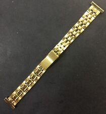Vintage 16mm Rowi Americ Metal Watch Strap, Old Stock Brand New
