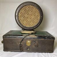 Atwater Kent Model 55 Radio with type F4 Speaker - PLEASE READ DESCRIPTION