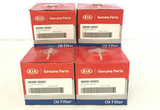 Kia Amanti Forte Optima Engine Oil Filters AND Drain Plug Gaskets 4 PACK!!!! OEM