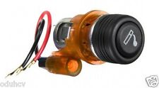 AMBER/ORANGE CIGARETTE LIGHTER & SOCKET FOR FIAT BRAVO PUNTO GRANDE SCUDO DUCATO