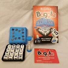 Boggle 3 Minute Word Game Hasbro Dice Timer