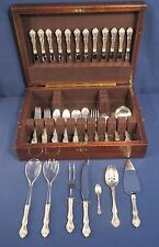 Westmorland Sterling Silver GEORGE and MARTHA WASHINGTON 84 pcs. Set Service 12