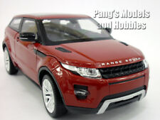 Land Rover Evoque 1/24 Scale Diecast Metal Car Model - Burgundy/Red