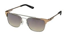 Spy Optic 100% UV Sunglasses Matte Silver Matte Rose Gold Frames Sunglasses