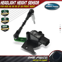 Headlight Level Height Sensor Front Right for Audi A6 A8 S6 S7 S8 4H0941286G