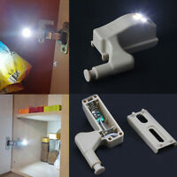 Universal Kitchen Cabinet Cupboard Wardrobe Inner Hinge LED Sensor Lamp Light CN