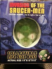 2008 INVASION OF THE SAUCER-MEN COLLECTIBLE LIFE SIZE BUST 15X12X12
