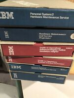 Vintage Lot Of 6 IBM Guide to Operations Personal Computer Hardware Maintenance