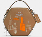 JEAN-MICHEL BASQUIAT LIMITED EDITION Empire New York LEATHER CROSS BODY BAG NEW!