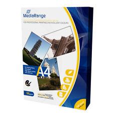 Mediarange Mrink107 - papel Fotográfico (A4 brillo color blanco)