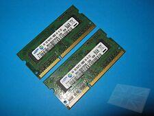 Samsung (2x1GB) M471B2873FHS-CH9 PC3-10600S DDR3 Sodimm Memoria portátil