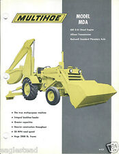 Equipment Brochure - Multihoe - Mda - Loader Backhoe - c1964 (E2994)