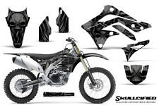 KAWASAKI KXF450 KX450F 12-15 CREATORX GRAPHICS KIT DECALS SKULLCIFIED B