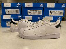 Adidas Superstar Stan Smith 1 White Leather Toddler Shoes/Sneaker White/Black