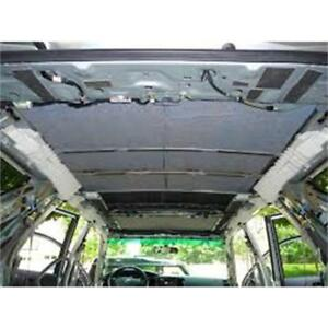 Hushmat Thermal Acoustic Insulation 628675; Roof Kit for 99-14 Ford, Toyota