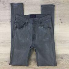 James Jean High Class Skinny Edinburgh Grey Stretch Women's Jeans Size 25  (P18)