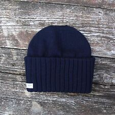 Saint James Barbaresque Hat in Navy Blue - 100% Wool - Made in France